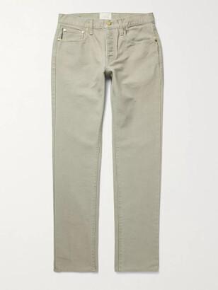 Sid Mashburn - Cotton-Canvas Jeans - Men - Neutrals