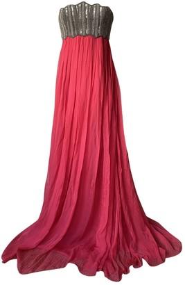 Jay Ahr Red Silk Dresses