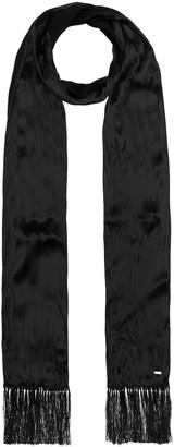 Saint Laurent Silk-satin scarf
