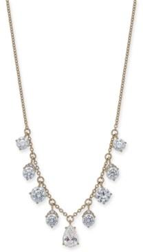 "Eliot Danori Cubic Zirconia Statement Necklace, 16"" + 1"" extender, Created for Macy's"