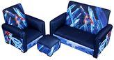 Harmony Kids DC Comics Superman Deluxe Sofa Set