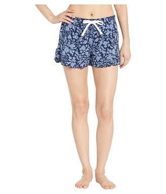 Splendid Ruffle Hem PJ Shorts
