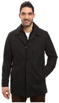 Nautica Wool Melton Button Front Coat