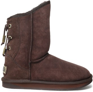 Australia Luxe Collective Dita Lace-up Shearling Boots