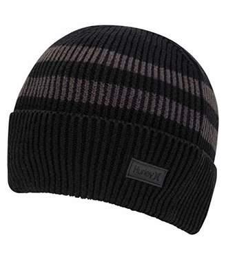 Hurley Men's El Porto Striped Knit Beanie