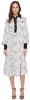 Prabal Gurung Long Sleeve Polo Dress Women's Dress