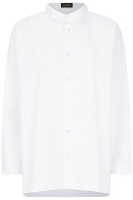 eskandar Double Collar Shirt