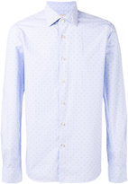 Xacus dots print shirt - men - Cotton - 39