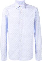 Xacus dots print shirt