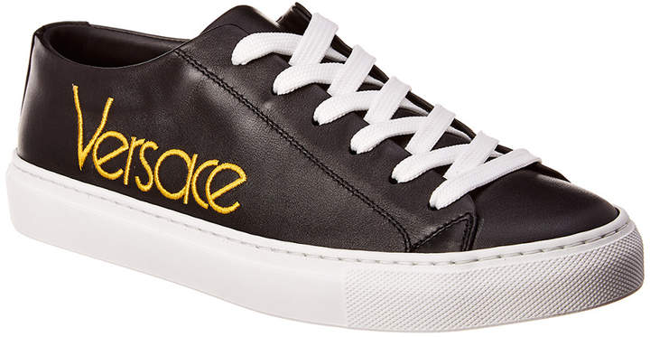 6858314ad01 Versace Black Women's Sneakers - ShopStyle