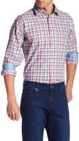 Bugatchi Plaid Classic Fit Woven Shirt