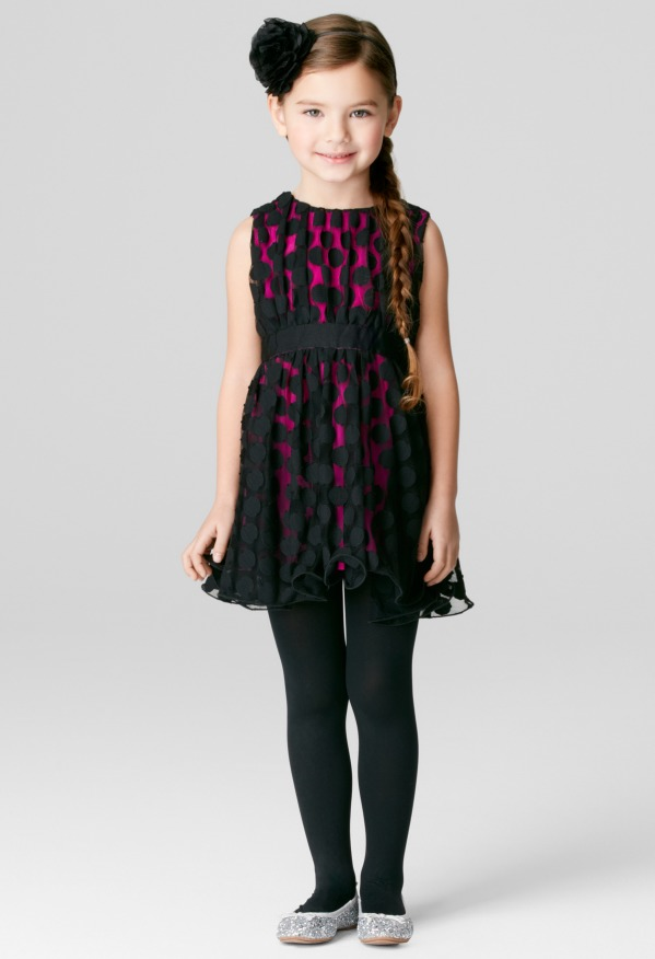 Milly Minis Gumball Dot Lace Dress