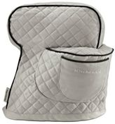 KitchenAid Fitted Cloth Cover for Tilt Head Stand Mixers in Silver Frost