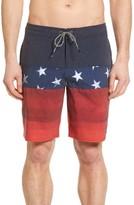 O'Neill Men's Hyperfreak Liberty 24-7 Board Shorts