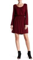Bobeau Cold Shoulder Long Sleeve Dress