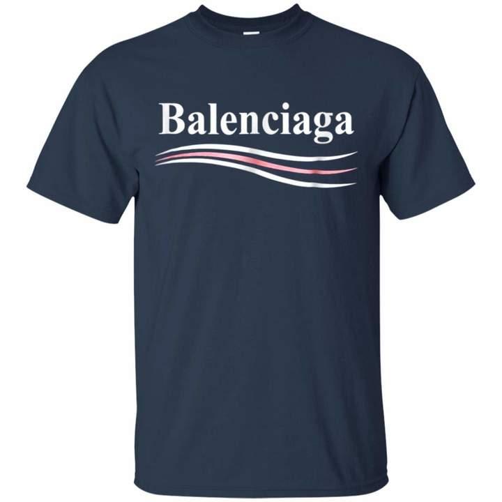 Balenciaga LumVeChai T-Shirt Gift for Unisex T-Shirt;Navy;3XL)