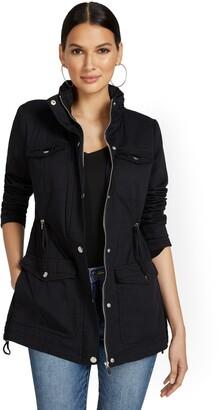 New York & Co. Long Anorak Jacket