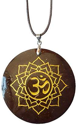 Saraswati Unisex No Metal Pendant Necklace - AM167