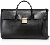 Furla Metropolis Large Leather Satchel