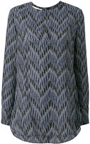 Marni zig-zag print blouse