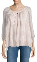 Le Marais Floral Embroidered Blouse