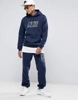 Nike Tracksuit Set With Large Logo In Blue 804306-451