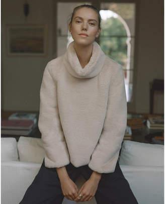 G. Label Pollard Faux-Fur Pullover