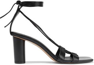Iris & Ink Jacinta Lace-up Leather Sandals