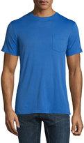 Ralph Lauren Short-Sleeve Washed T-Shirt, Royal
