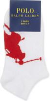 Ralph Lauren Big Pony cotton socks pack of two