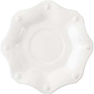 Juliska Berry & Thread White Scallop Saucer