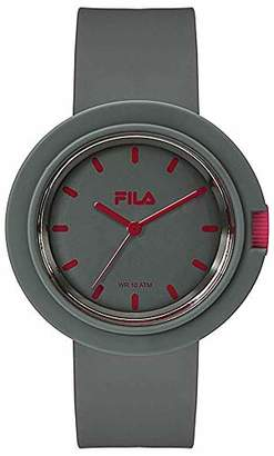Fila Unisex Adult Analogue Quartz Watch with Silicone Strap FILA38-109-005