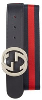 Gucci Men's Logo Buckle Interlock Belt