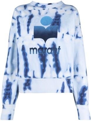 Etoile Isabel Marant Tie-Dye Print Sweatshirt