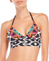 Trina Turk Africana Crop Triangle Bikini Top