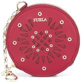 Furla 'Babylon' coin purse keyring - women - Leather - One Size