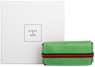 Eight & Bob Grass Green Leather Fragrance Case 30ml