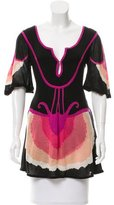 Temperley London Intarsia Knit Tunic