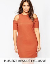 Alice & You Cold Shoulder Bodycon Dress