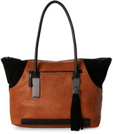 French Connection Nutmeg & Black Camden Tote