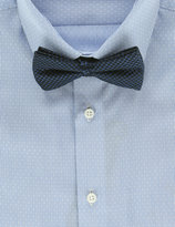 Marks And Spencer Pure Silk Waffle Textured Bow Tie