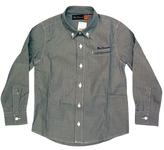 Ben Sherman Kid's Blue Striped Classic L/S Shirt