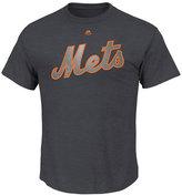 Majestic Men's Jacob deGrom New York Mets Platinum T-Shirt