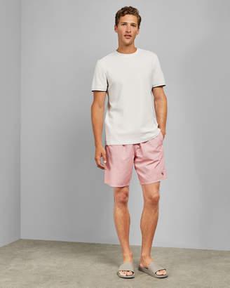 Ted Baker FLAGS Branded print swim shorts