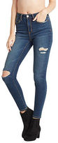Aeropostale Womens Seriously Stretchy Dark Wash High-Waisted Ankle Jegging
