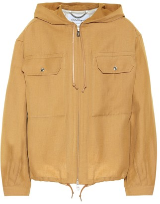 Salvatore Ferragamo Twill jacket