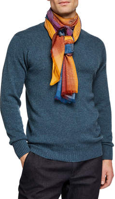 Etro Men's Gradient Viscose Scarf