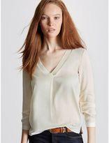 Cyrillus T-Shirt Femme Bi-Matière