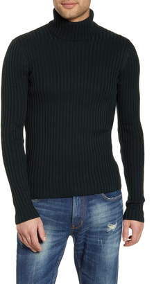 John Varvatos Portland Slim Fit Turtleneck Sweater