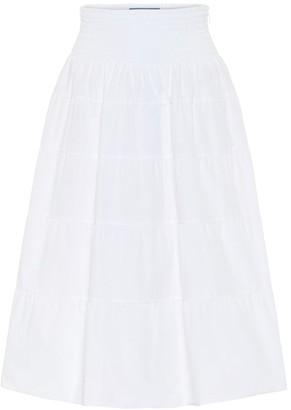 Prada Cotton midi skirt